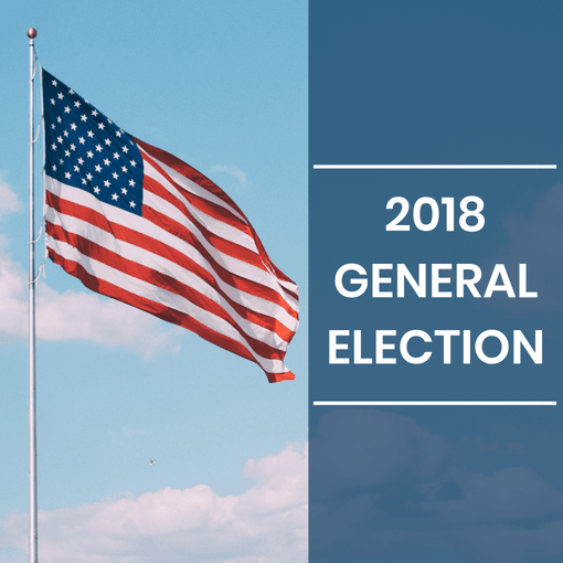 2018 General Election Latest News Image - Flag with text