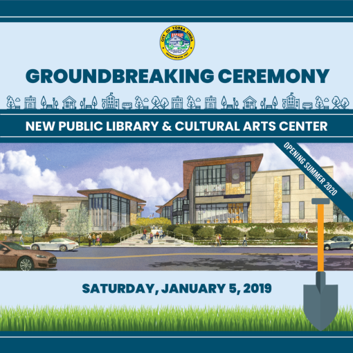 Library and Arts Center Groundbreaking