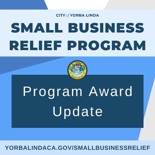 Small Business Relief Program Award Update